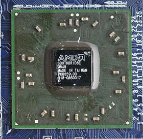 图:RS880北桥芯片;右图:SB710南桥芯片-DirectX10.1普及先锋 图片