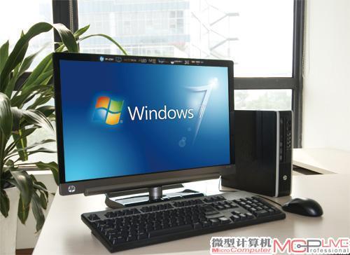 商务智慧 丰简搭配 HP Compaq 8200 Elite USDT与HP x2301的完美邂逅