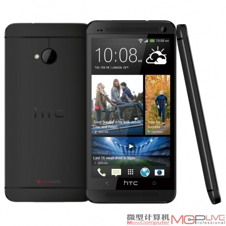 The New HTC One(后文简称HTC One) ●Super LCD 3 ●4.7英寸(1920×1080)